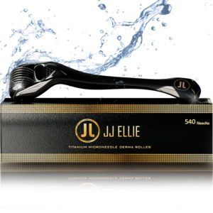 Derma Roller Microneedling Kit for Face, Beard, and Hair Growth