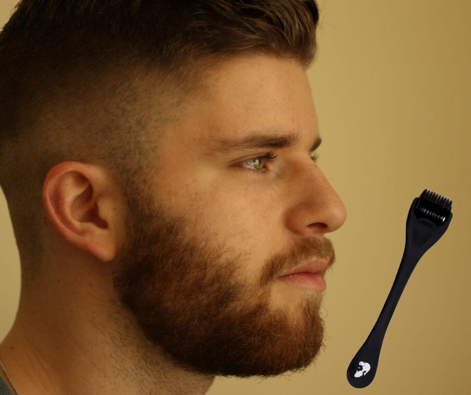 beard roller man