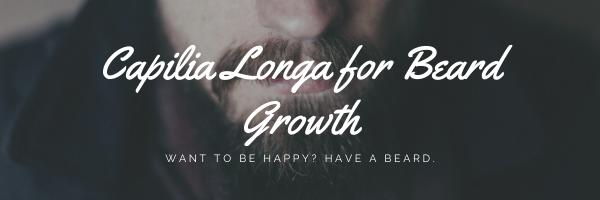 Capilia Longa for Beard Growth
