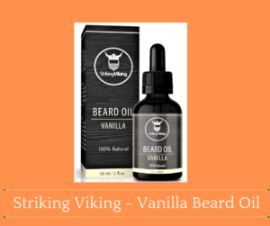 Striking Viking - Vanilla Beard Oil