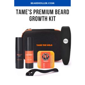 Tame's Premium Beard Growth Kit