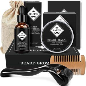 Beard growth kit gift