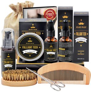 beard grooming and growth kit